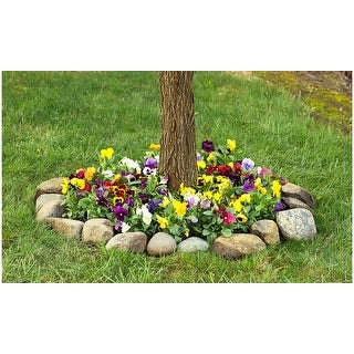 Pretty Pansies Seeded Flower Mat - 2 Pack with Garden Shovel