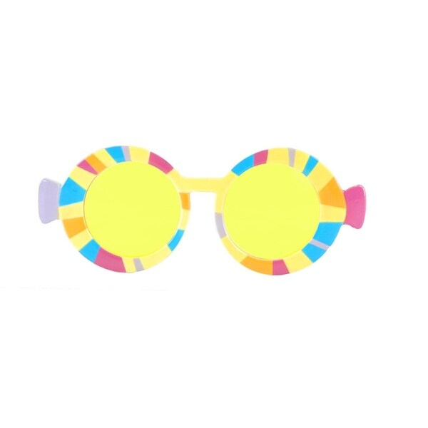 Dr. Seuss Oh The Places You Will Go Costume Graduation Glasses Adult - YELLOW  sc 1 st  Overstock.com & Shop Dr. Seuss Oh The Places You Will Go Costume Graduation Glasses ...