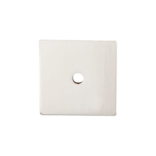 """Top Knobs TK95 1-1/4"""" Square Cabinet Knob Backplate from the Sanctuary Series - n/a"""