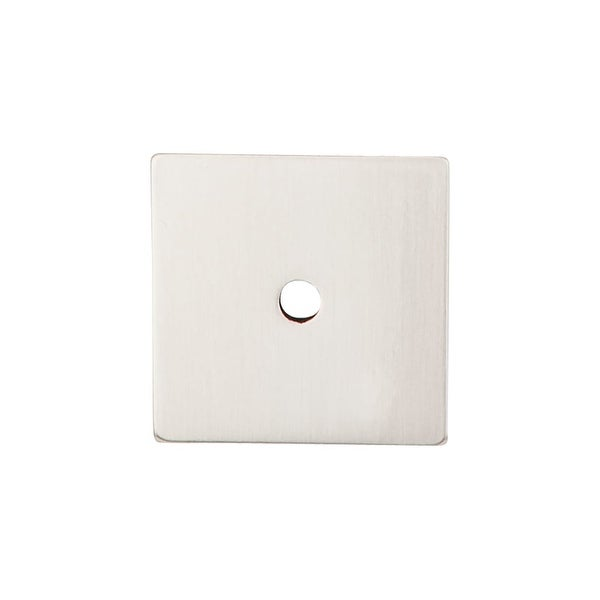 Top Knobs TK95 Sanctuary Collection 1-1/4 Inch Square Cabinet Knob Back Plate