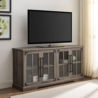 The Gray Barn 58-inch Farmhouse 4-Door TV Console