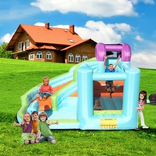 Link to New Inflatable Bounce House, Slide Bouncer with Pool Area Similar Items in Outdoor Play