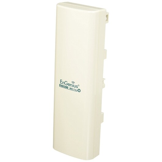 Engenius Enh500 Outdoor Wireless Ethernet Bridge; N300 5 Ghz, White