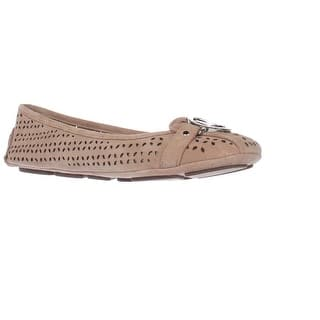 MICHAEL Michael Kors Fulton Moccasin Cutout Ballet Flats, Dark Khaki|https://ak1.ostkcdn.com/images/products/is/images/direct/d44414c5644c000d6f3c59fd2c4f9b27c1c8b71c/MICHAEL-Michael-Kors-Fulton-Moccasin-Cutout-Ballet-Flats%2C-Dark-Khaki.jpg?impolicy=medium