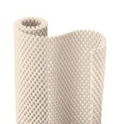 "Con-Tact 04F-C6L54-06 Premium Grip Shelf Liner, 12""x4', Almond"
