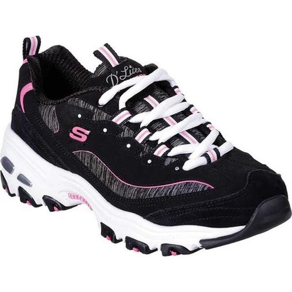 D'Lites Sneaker Black/Hot Pink