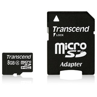 Transcend TS8GUSDHC4M SECURE DIGITAL MICRO 8GUSDHC CL 4