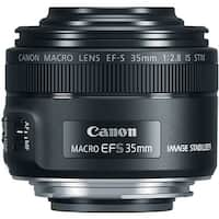 Canon EF-S 35mm f/2.8 Macro IS STM DSLR Lens - black
