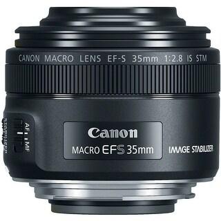Canon EF-S 35mm f/2.8 Macro IS STM DSLR Lens - Black