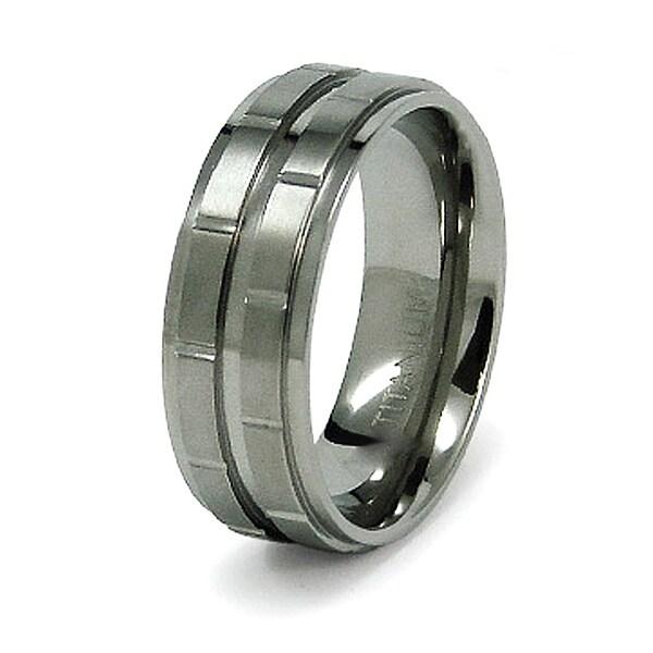 8mm Titanium Ring (Sizes 8-12)