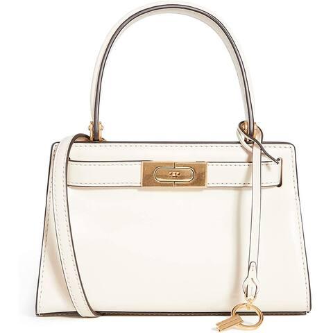 Tory Burch Womens Lee Radziwell Petite Bag, New Cream, Off White, One Size