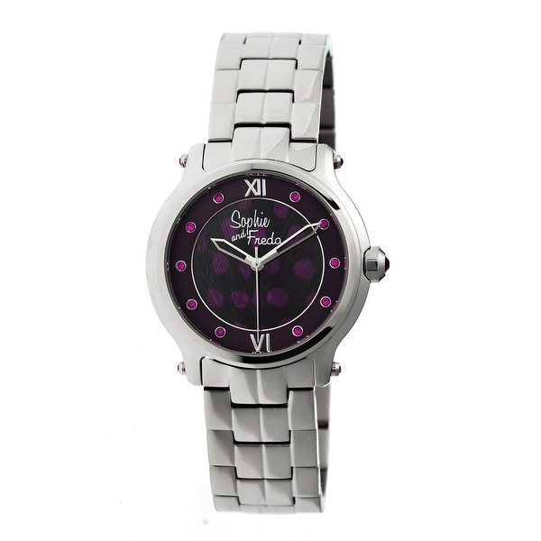 Sophie and Freda Siena Women's Quartz Watch, Stainless Steel Band