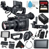 Canon EOS C200 EF Cinema Camera and 24-105mm Lens #2244C002 (International Model) + 256GB SDXC Card Bundle