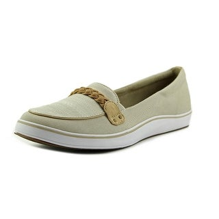 Grasshoppers Windham Women Round Toe Canvas Tan Loafer