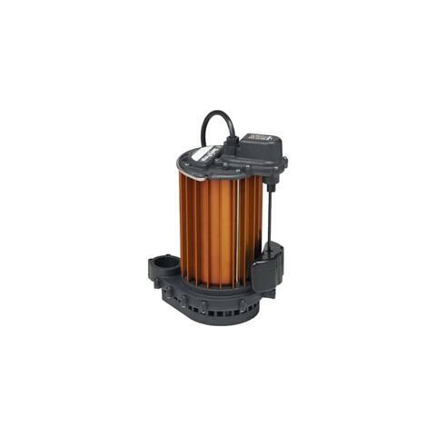 Liberty Pumps 457 1/2 HP Aluminum Submersible Sump Pump with Vertical Float -