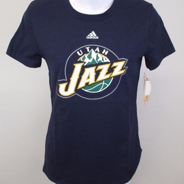 sale retailer 80fb2 dc306 Utah Jazz Youth Girls Size L Large (14) Adidas Shirt