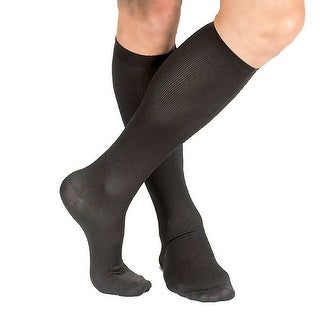 Men's Support Plus Lightweight Moderate Compression Dress Socks