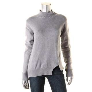 Alternative Apparel Womens Knit Ribbed Trim Pullover Sweater