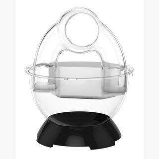 "BioBubble Bubble Tunnel Kit Black 14.25"" x 11.5"" x 11.5"""