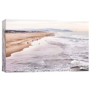 "PTM Images 9-102245  PTM Canvas Collection 8"" x 10"" - ""Ocean Beach"" Giclee Coastlines Art Print on Canvas"
