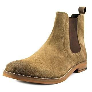 Crevo Denham Men Round Toe Suede Brown Boot