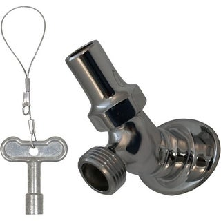 """Prier Products C-235.75 3/4"""" FPT Key-Operated Angle Sill Faucet"""