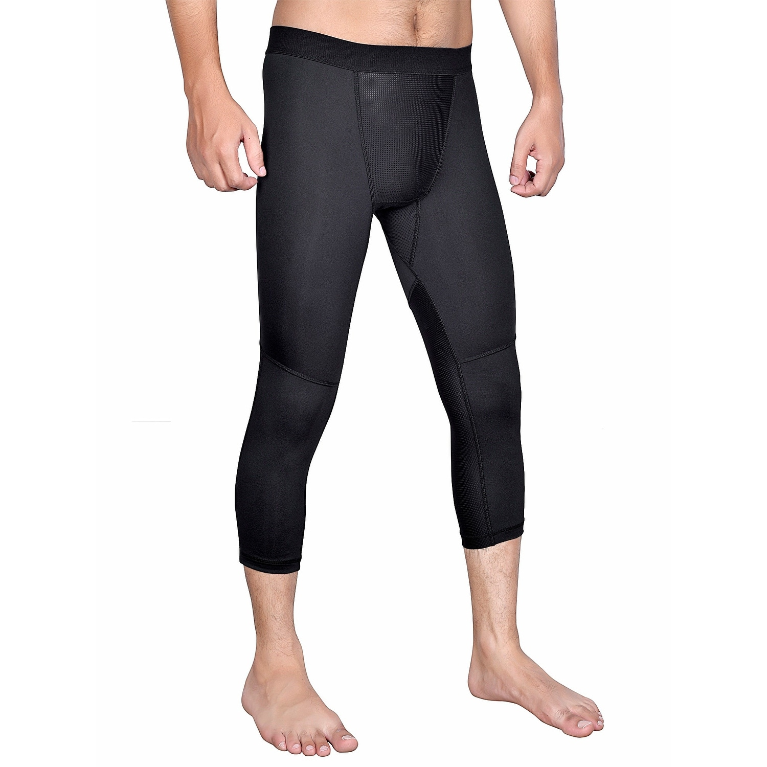 Men/'s Compression Tights Gym Yoga Running Baselayer Moisture Wicking Bottoms