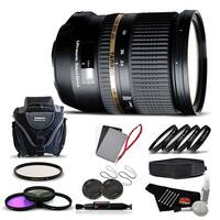 Tamron SP 24-70mm f/2.8 Di USD Lens for Sony International Version (No Warranty) Advanced Kit - black