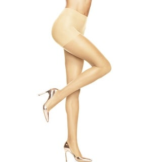 Hanes Absolutely Ultra Sheer Control Top Sheer Toe Pantyhose - Size - B - Color - Pearl