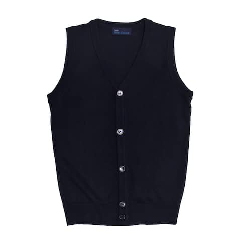 Boy's Cardigan Sweater Vest (SV200BOYS)