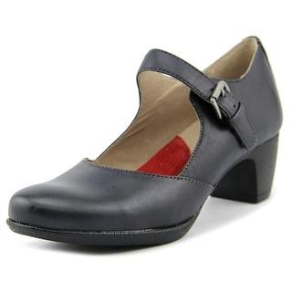 Softwalk Irish Women N/S Round Toe Leather Mary Janes