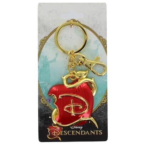 Disney Descendants Logo Colored Pewter Key Ring - Red