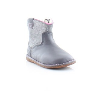 Clarks Flora West FST Toddler Girls Boots Anthracite