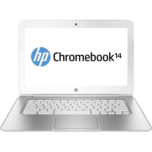 HP Chromebook F7W51UA Laptop Intel Celeron 4GB RAM 32GB SSD Chrome Webcam. Opens flyout.