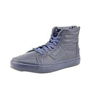 Vans Sk8-Hi Round Toe Leather Skate Shoe
