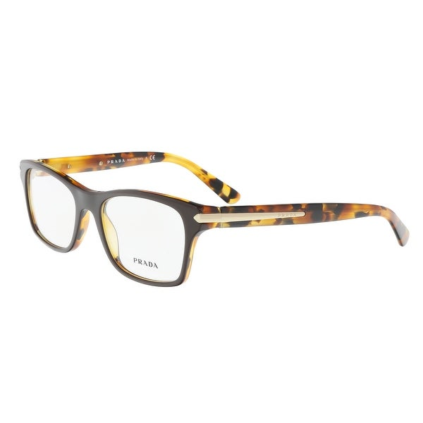 600b511f76eb Shop Prada PR 16SV UBS101 Brown Square Optical Frames - 52-18-140 ...