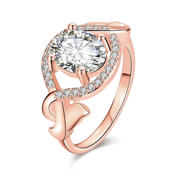 Rose Gold Downtown Abby Inspired Ring