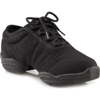 Capezio Dance Children's Canvas Dansneaker DS03C Black