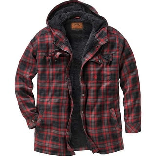 Legendary Whitetails Men's Camp Night Berber Lined Hooded Flannel|https://ak1.ostkcdn.com/images/products/is/images/direct/d44e10fed6bacf656ff8d68481de0e4a91ec962c/Legendary-Whitetails-Men%27s-Camp-Night-Berber-Lined-Hooded-Flannel.jpg?impolicy=medium