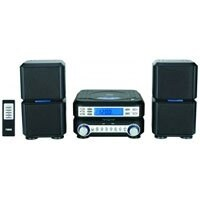 Naxa NAXNS438B Digital CD Micro System with AM/FM Radio