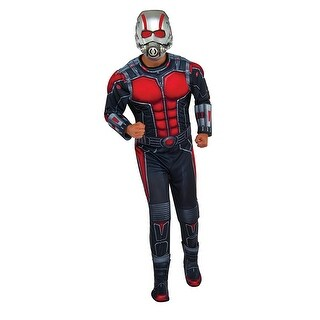Ant Man Deluxe Costume Adult Standard - Black