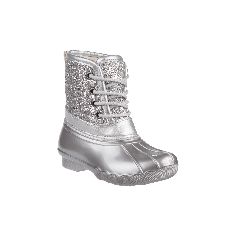 Round Toe Duck Boots Girls