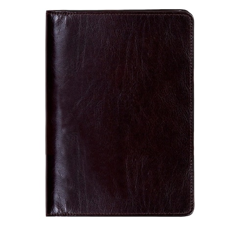 Scully Western Planner Italian Leather Weekly Desk Compact - Walnut - One Size