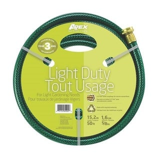 "Teknor Apex 8400-050 Light Duty Garden Hose, 5/8"" x 50'"