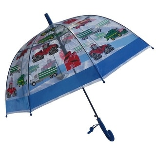 Foxfire Boys Clear Dome Farm Equipment Clear Dome Umbrella