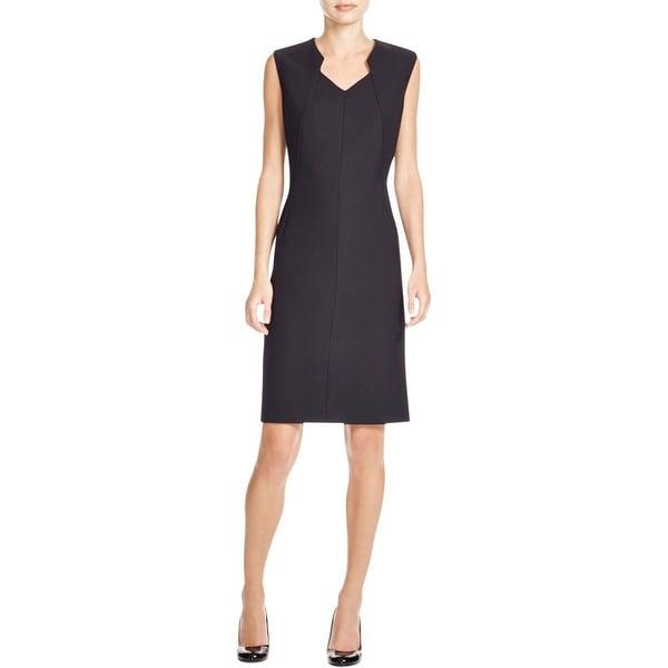 BOSS Hugo Boss Womens Dokysa Wear to Work Dress Sleeveless V-Neck