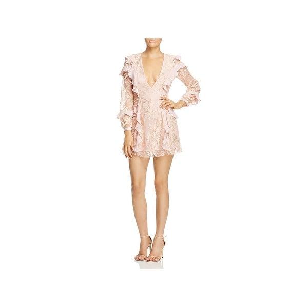 adcb87ac5a Shop For Love & Lemons Womens Mini Dress Lace Daytime - Free ...