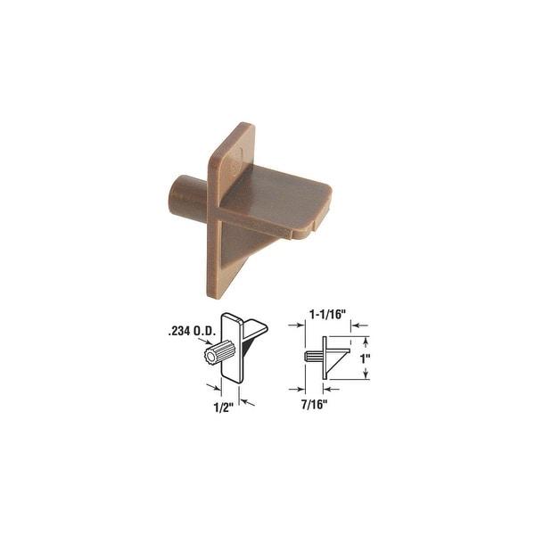 SLIDE-CO Brn Shelf Support