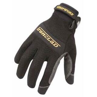 Ironclad BGW-04-L Gripworx Glove, Large, Black