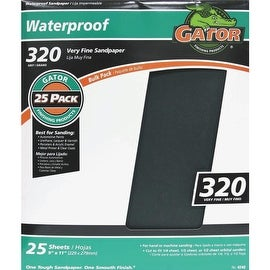 Gator 320B Wet/Dry Sandpaper
